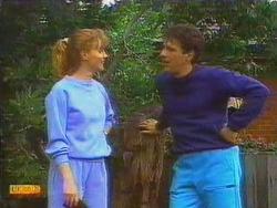 Sally Wells, Tony Romeo in Neighbours Episode 0669