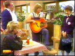 Scott Robinson, Harold Bishop, Henry Ramsay, Nell Mangel in Neighbours Episode 0763