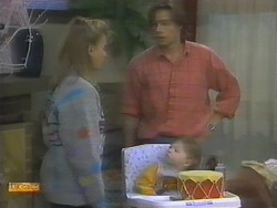 Bronwyn Davies, Mike Young, Jamie Clarke in Neighbours Episode 0782