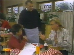 Todd Landers, Harold Bishop, Scott Robinson in Neighbours Episode 0782