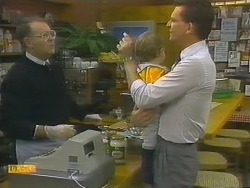Harold Bishop, Jamie Clarke, Des Clarke in Neighbours Episode 0782