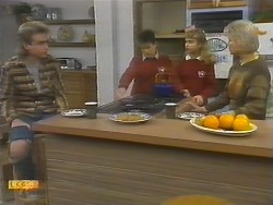 Nick Page, Todd Landers, Emma Gordon, Helen Daniels in Neighbours Episode 0783