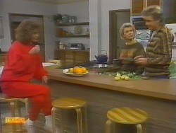Madge Bishop, Helen Daniels, Nick Page in Neighbours Episode 0783