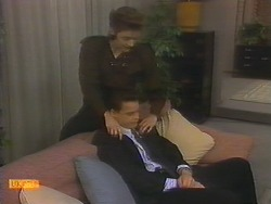 Gail Robinson, Paul Robinson in Neighbours Episode 0783