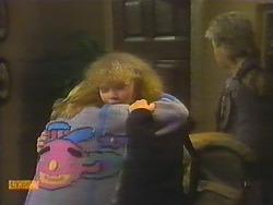 Bronwyn Davies, Sharon Davies, Nick Page in Neighbours Episode 0784