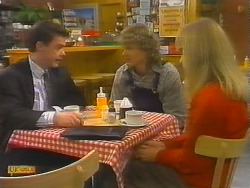 Paul Robinson, Henry Ramsay, Jane Harris in Neighbours Episode 0785