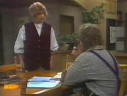 Madge Bishop, Henry Ramsay in Neighbours Episode 0785