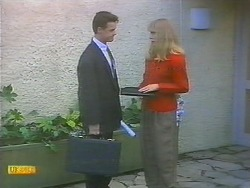 Paul Robinson, Jane Harris in Neighbours Episode 0785