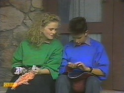 Sharon Davies, Todd Landers in Neighbours Episode 0785