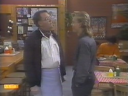 Harold Bishop, Scott Robinson in Neighbours Episode 0786