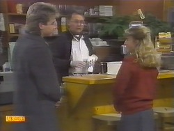 Nick Page, Harold Bishop, Emma Gordon in Neighbours Episode 0786