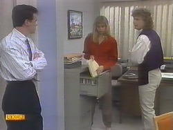 Paul Robinson, Jane Harris, Henry Ramsay in Neighbours Episode 0786