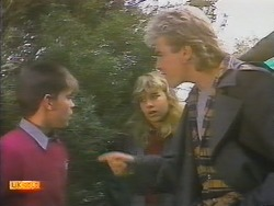 Todd Landers, Emma Gordon, Nick Page in Neighbours Episode 0786