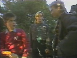 Todd Landers, Scott Robinson, Nick Page in Neighbours Episode 0786