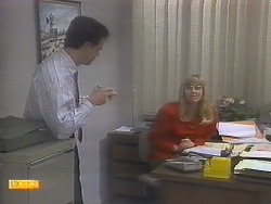 Paul Robinson, Jane Harris in Neighbours Episode 0786