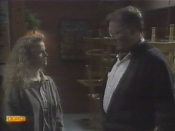 Sharon Davies, Harold Bishop in Neighbours Episode 0787