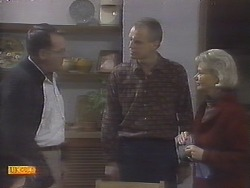 Harold Bishop, Jim Robinson, Helen Daniels in Neighbours Episode 0787