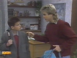 Todd Landers, Nick Page in Neighbours Episode 0787