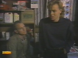 Jim Robinson, Scott Robinson in Neighbours Episode 0787