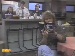 Bronwyn Davies, Des Clarke, Mike Young, Henry Ramsay in Neighbours Episode 0788
