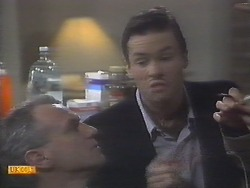 Jim Robinson, Mike Young in Neighbours Episode 0788
