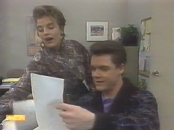 Gail Robinson, Paul Robinson in Neighbours Episode 0789