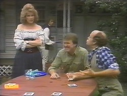 Madge Bishop, Henry Ramsay, Waterhole Customer, Bob Hughes in Neighbours Episode 0789