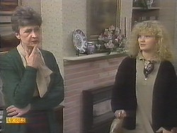 Nell Mangel, Sharon Davies in Neighbours Episode 0789