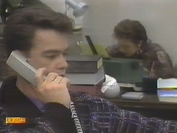 Paul Robinson, Gail Robinson in Neighbours Episode 0789