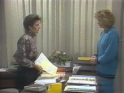 Gail Robinson, Madge Bishop in Neighbours Episode 0790