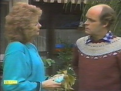Madge Bishop, Bob Hughes in Neighbours Episode 0790
