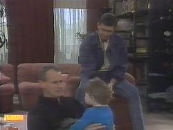 Jim Robinson, Jamie Clarke, Des Clarke in Neighbours Episode 0790