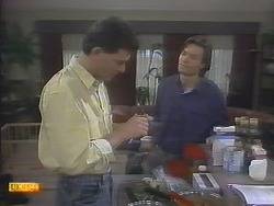 Des Clarke, Mike Young in Neighbours Episode 0790