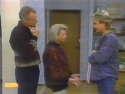 Jim Robinson, Helen Daniels, Nick Page in Neighbours Episode 0791