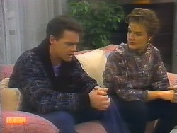 Paul Robinson, Gail Robinson in Neighbours Episode 0791