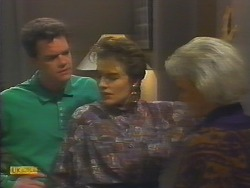 Paul Robinson, Gail Robinson, Helen Daniels in Neighbours Episode 0791
