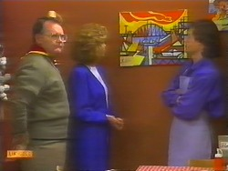 Harold Bishop, Madge Bishop, Mike Young in Neighbours Episode 0791