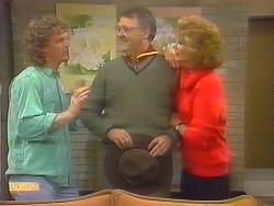 Henry Ramsay, Harold Bishop, Madge Bishop in Neighbours Episode 0792
