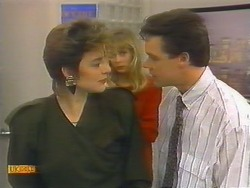 Gail Robinson, Jane Harris, Paul Robinson in Neighbours Episode 0792