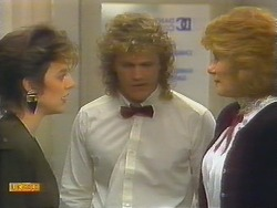 Gail Robinson, Henry Ramsay, Madge Bishop in Neighbours Episode 0792