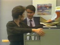 Gail Robinson, Derek Morris in Neighbours Episode 0793