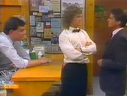 Des Clarke, Henry Ramsay, Derek Morris in Neighbours Episode 0793