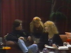 Mike Young, Bronwyn Davies, Sharon Davies in Neighbours Episode 0794
