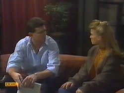 Des Clarke, Bronwyn Davies in Neighbours Episode 0794