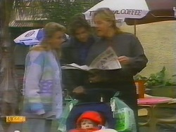 Bronwyn Davies, Mike Young, Jamie Clarke, Scott Robinson in Neighbours Episode 0794