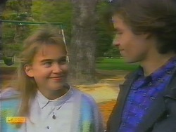 Bronwyn Davies, Mike Young in Neighbours Episode 0795