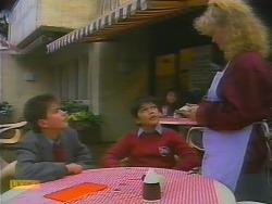 Todd Landers, Gary Lim, Sharon Davies in Neighbours Episode 0795