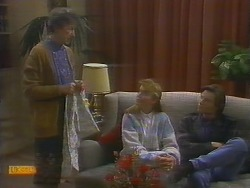 Nell Mangel, Bronwyn Davies, Mike Young in Neighbours Episode 0795