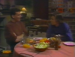 Des Clarke, Mike Young in Neighbours Episode 0795