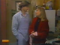 Mike Young, Bronwyn Davies in Neighbours Episode 0795